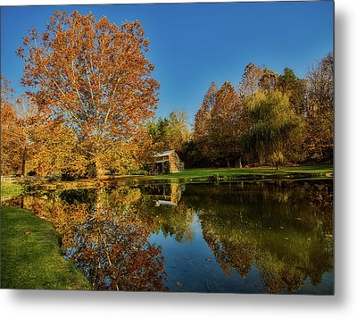Autumn In West Virginia Metal Print by L O C