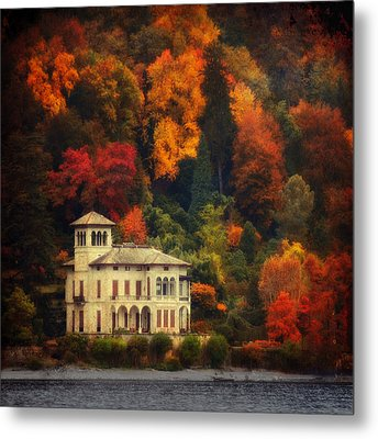 Metal Print featuring the photograph Autumn Is My Garden by Philippe Sainte-Laudy