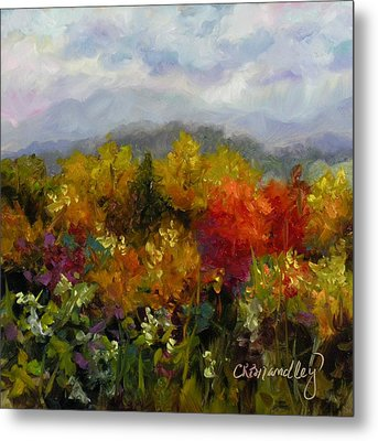 Autumn Jewels Metal Print by Chris Brandley