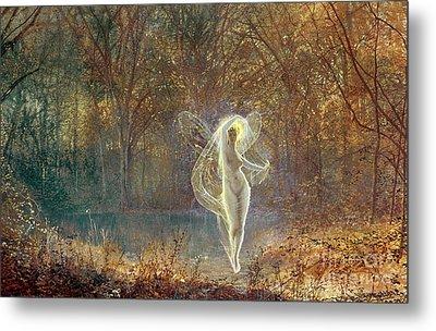 Autumn Metal Print by John Atkinson Grimshaw