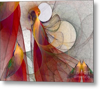 Autumn Metal Print by Karin Kuhlmann