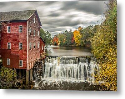Autumn Mill Metal Print by Mark Goodman