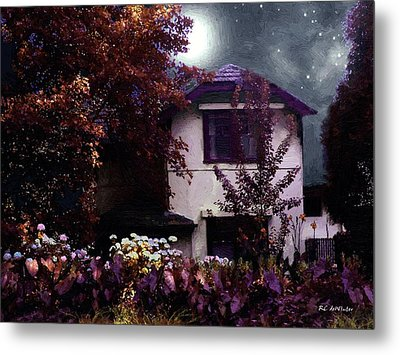 Autumn Night In The Country Metal Print