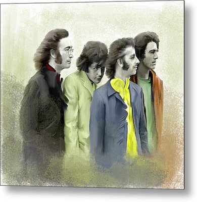 Autumn Of 68 The Beatles Metal Print