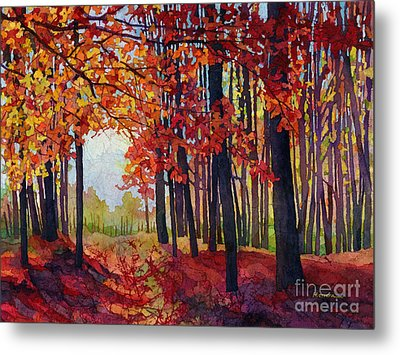 Autumn Rapture Metal Print by Hailey E Herrera