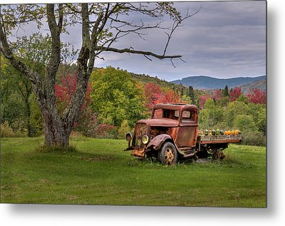 Autumn Relic Metal Print by Bill Wakeley
