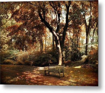 Autumn Repose Metal Print