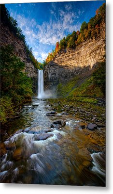 Autumn Riches Metal Print by Neil Shapiro