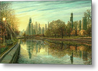Autumn Serenity Metal Print by Doug Kreuger