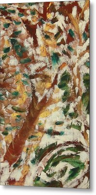 Autumn Snow II Metal Print by Patricia Cleasby
