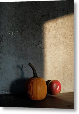 Metal Print featuring the photograph Autumn Still Life I Color by David Gordon