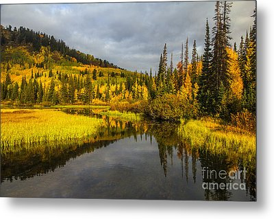 Metal Print featuring the photograph Autumn Sunrise by Spencer Baugh