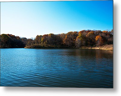 Autumn The In Loess Hills Metal Print