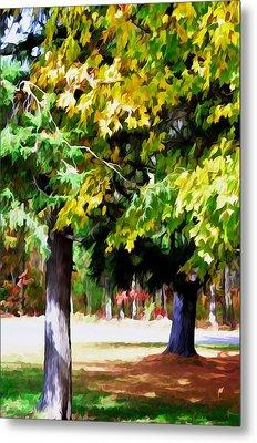 Autumn Trees 7 Metal Print by Lanjee Chee