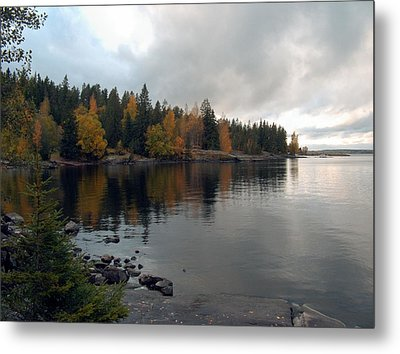 Metal Print featuring the photograph Autumn View 1 by Sami Tiainen