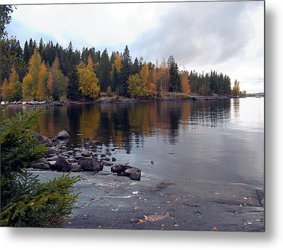 Metal Print featuring the photograph Autumn View 2 by Sami Tiainen