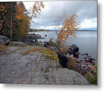 Metal Print featuring the photograph Autumn View 4 by Sami Tiainen
