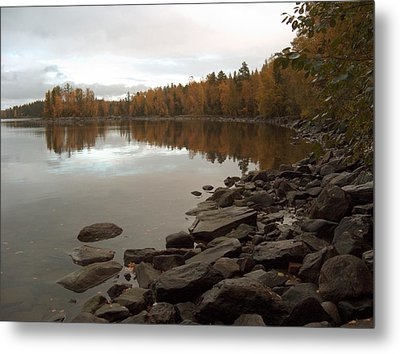 Metal Print featuring the photograph Autumn View 5 by Sami Tiainen