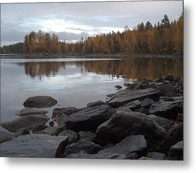 Metal Print featuring the photograph Autumn View 6 by Sami Tiainen