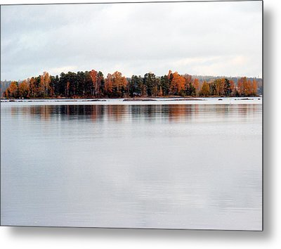 Metal Print featuring the photograph Autumn View 7 by Sami Tiainen