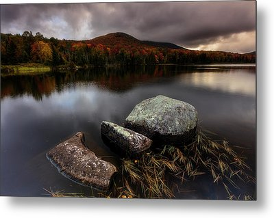 Metal Print featuring the photograph Autumn Visit by Mike Lang