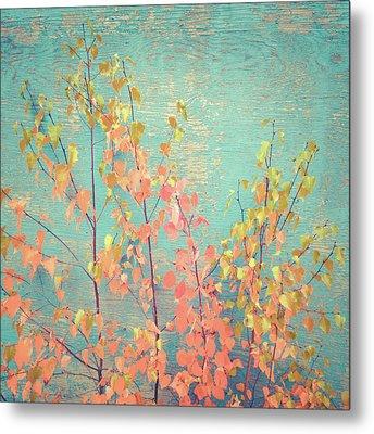Metal Print featuring the photograph Autumn Wall by Ari Salmela