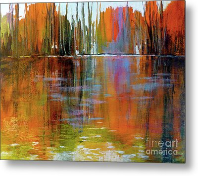 Autumn's Fire No. 2 Metal Print by Melody Cleary