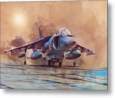 Av-8b Harrier Metal Print