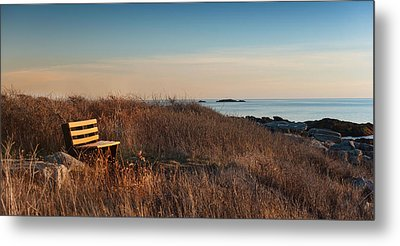 Metal Print featuring the photograph Available Seating by Robin-lee Vieira