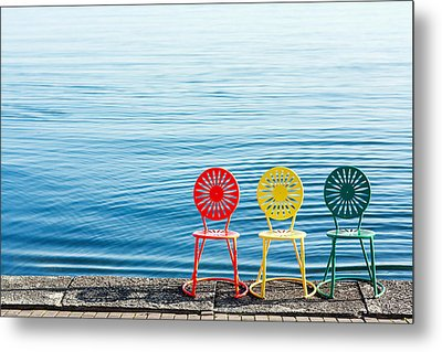 Available Seats Metal Print by Todd Klassy