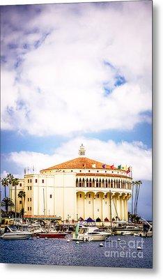 Avalon Casino Catalina Island Vertical Picture Metal Print