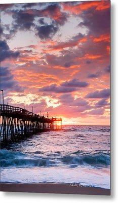 Avalon Pier 9683 Metal Print