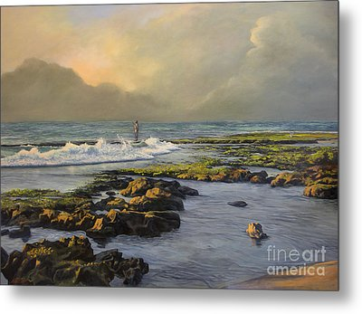 Avalon Point Metal Print by Jeanne Newton Schoborg
