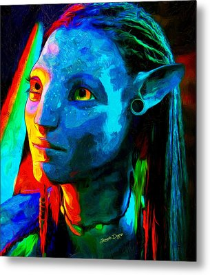 Avatar  - Van Gogh Style -  - Da Metal Print