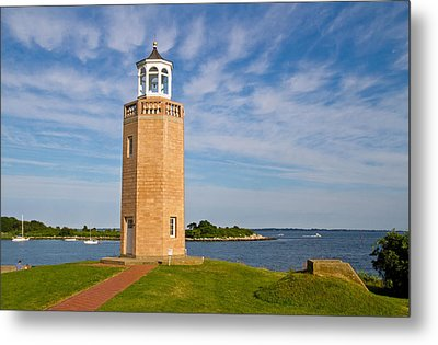 Avery Point Lighthouse Metal Print