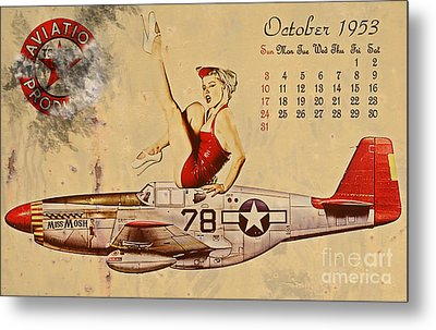 Aviation 1953 Metal Print