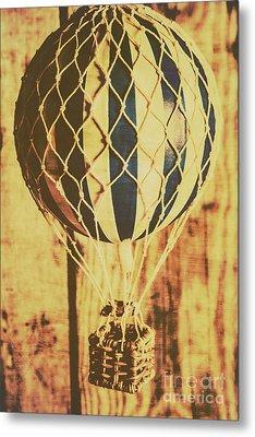 Aviation Nostalgia Metal Print