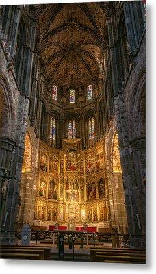 Avila Cathedral Metal Print