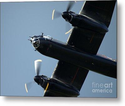 Avro Lancaster Metal Print by Angel  Tarantella