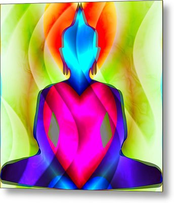 Awakened Metal Print by Mary Morawska