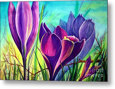 Awakening Metal Print by Nancy Cupp