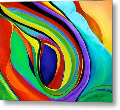Metal Print featuring the painting Awakening by Polly Castor