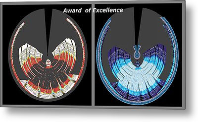 Award Of Excellence Graphic Signature Art By Navin Joshi Metal Print by Navin Joshi