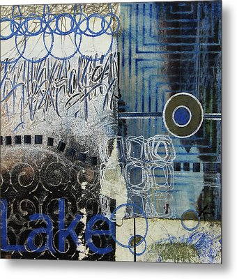 Away By The Lake  Metal Print