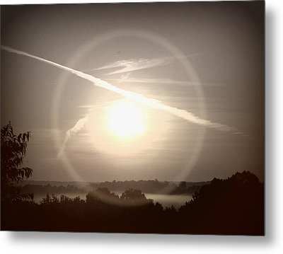 Awe Inspired Morning Metal Print by Cheryl Helms
