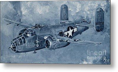 B-25 Mitchell Metal Print