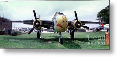 B-25j Mary Alice II, Mitchell Bomber Metal Print