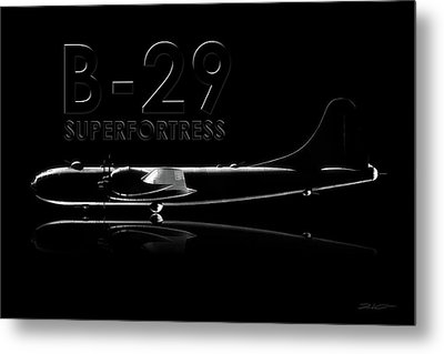 B-29 Superfortress Metal Print by David Collins