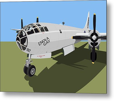 B29 Superfortress Metal Print by Michael Tompsett