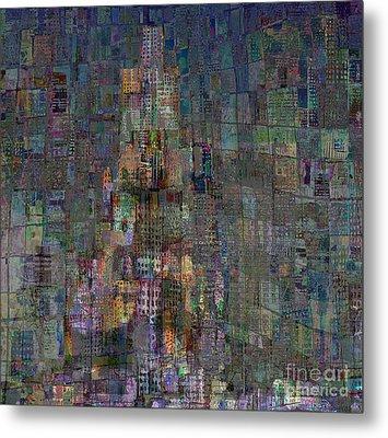 Babel Metal Print by Andy  Mercer